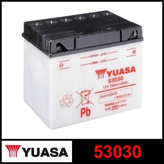 Batería [ Yuasa ] 53030 (12 Voltios/30 Amperio)