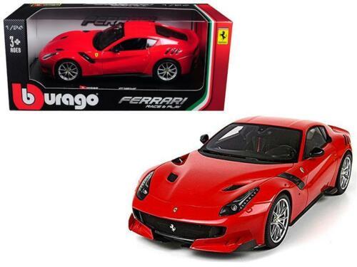 Ferrari F12 TDF Red 1-24 Diecast Model Car by Bburago