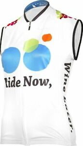Ride Now, Wine Later Women's Sleeveless Cycling Jersey