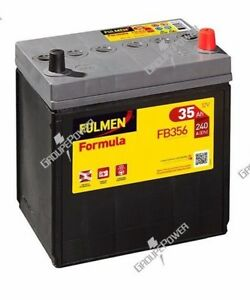 Batterie-Fulmen-FB356-12v-35ah-240A-A14-Daihatsu-HIJET-Bus-S85-1-0-i-06-93