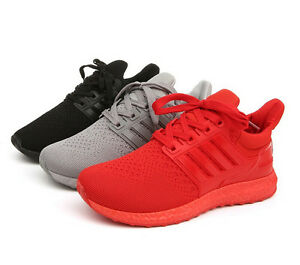 Image is loading Men-Women-039-s-Sports-shoes-Boost-Sneakers-