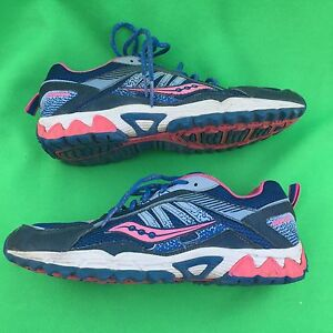 e3d7db5761b5 SAUCONY EXCURSION youth girl s running walking leather shoes size ...