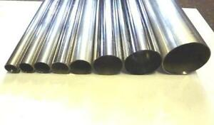 EXHAUST-TUBING-PIPE-T304-STAINLESS-STEEL-All-Sizes-HIGH-QUALITY-REPAIR-SECTIONS