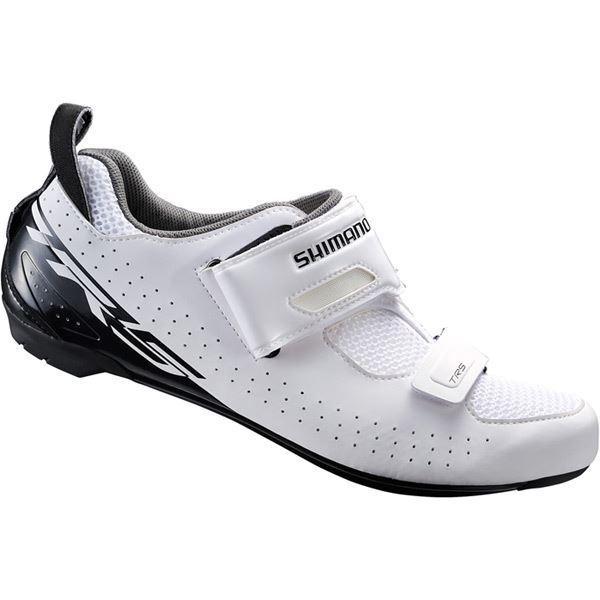 Shimano TR5 SPD-SL Zapatos, blancoo, Talla 49