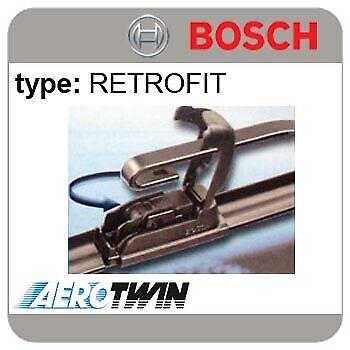 MK2 Bosch Aerotwin Delantero Wiper Blades se ajusta Mazda 2 /> 06.07