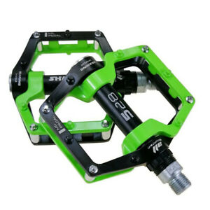 1-Pair-MTB-Road-Bike-Mountain-Bicycle-Pedal-Flat-Platform-Pedals-Magnesium-Alloy