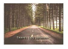 Caravan or Motorhome Owners, Travel Record Log & Journal - Forest Road Straight