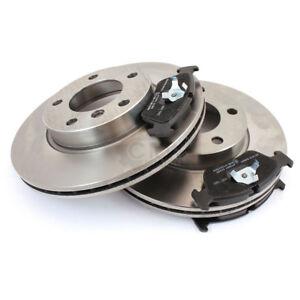 2x-Brake-Discs-Brake-Pad-Set-Front-Mitsubishi-Vented-Set-1124069