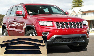 #698 Rainshield Weathershields Door Visor For 2012-2016 Jeep Grand Cherokee