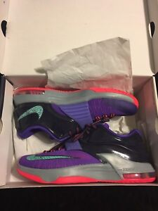 low priced e0322 bfe93 Image is loading Nike-KD-7-Cave-Purple-Men-039-s-