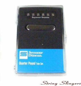 Seymour-Duncan-STL-3-039-Quarter-pound-039-Pickup-Set-for-Tele-Black-Chrome-11208-14