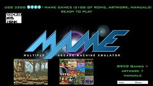 8500-MAME-games-21GB-Roms-Classic-collection-Arcade-Coin-op-Retro-32GB-drive