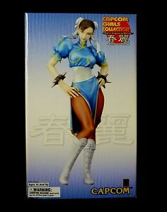 Street Fighter Chun Li Yamato Statue New 2006 Capcom Girls Amricons Ebay