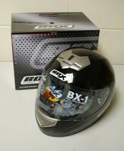 A2 MOTORCYCLE HELMET BLACK BOX SIZE XL FREE DELIVERY B1BXL