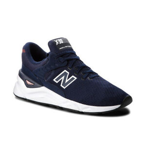new product d1b75 e38ea Image is loading NEW-BALANCE-X-90-Men-Navy-Blue-MSX90CRF