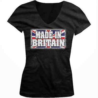 Made In Britian Great Britian Flag British Pride Union Jack Juniors T-shirt