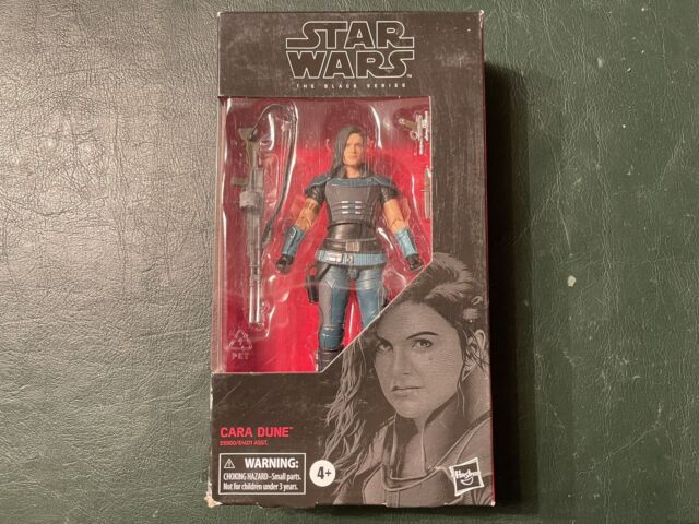 Hasbro Star Wars The Black Series #101 Cara Dune - NEW - OK CONDITION