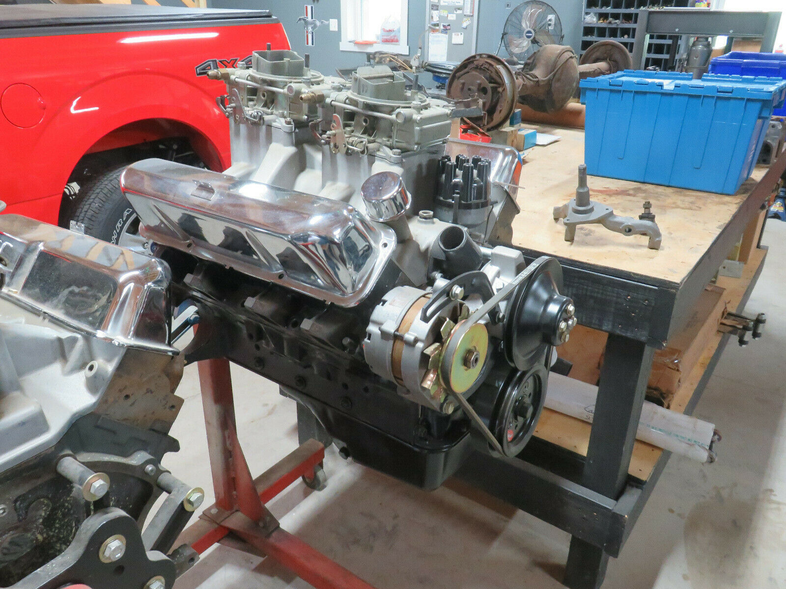 1964 OEM FORD 427 HI RISE ENGINE FORD THUNDERBOLT SIDEOILER