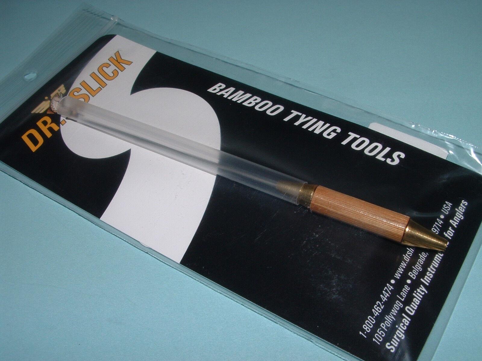 Slick Bodkin w// Half Hitch Tool Brass Handle Fly Tying BOD Dr