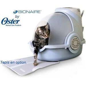 Maison de toilette BIONAIRE - Litière chat OSTER