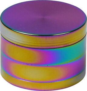 Grinder Metal Rainbow / Ø 63 MM / Height 45 4teilig / Sieve/ Spatula