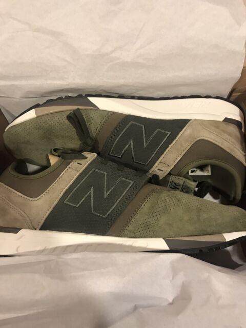 NEW BALANCE MEN'S Shoes 247 Luxe Sneaker MRL247RG NAVYGRAYGreen 11 US NEW