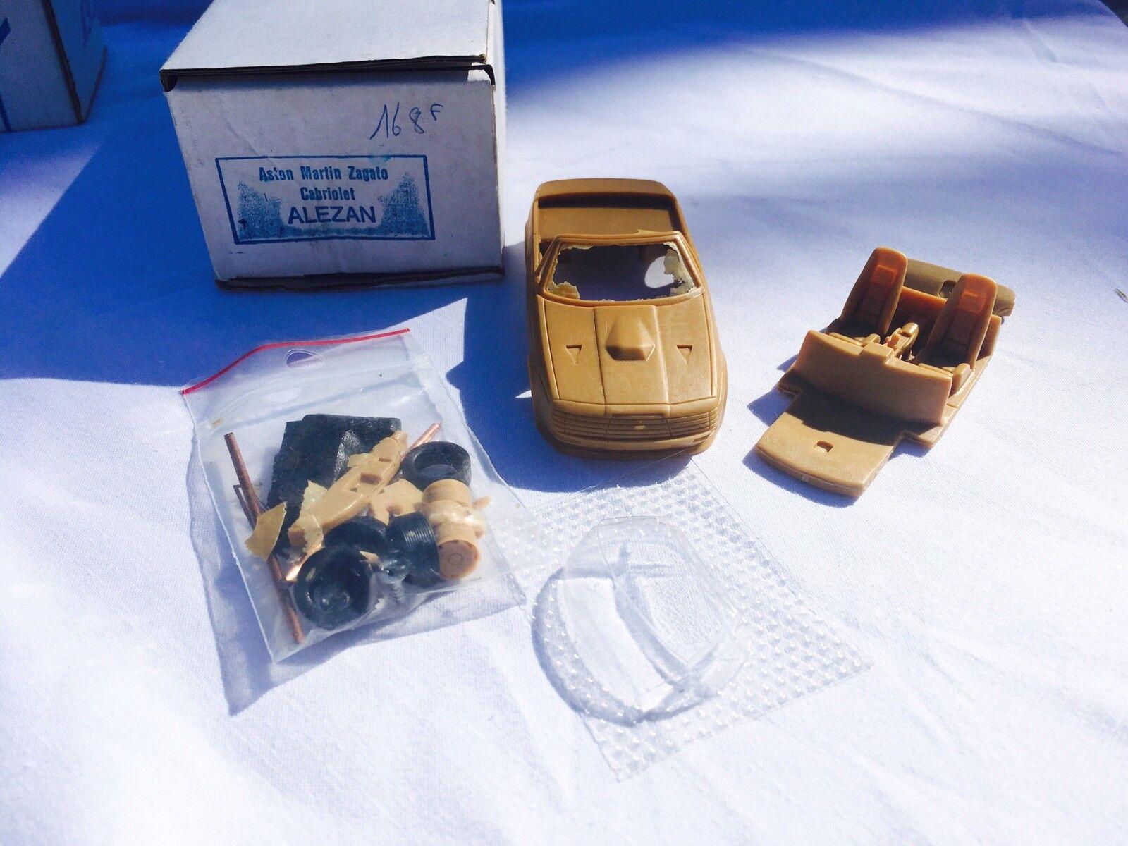 Alezan 1 43 Kit  Maquette  A Monter Aston Martin Zagato