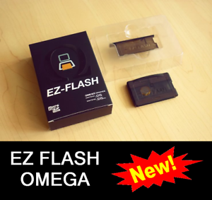 NEW-EZ-Flash-OMEGA-GameBoy-Advance-GBA-SP-DS-DSI-Nintendo-4-IV-reform