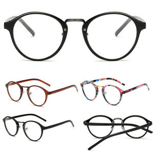 956a818603b Fashion Eyeglasses Full Rim Clear Lens Round Frames Women Men Unisex ...