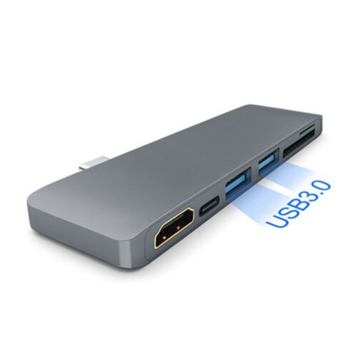 USB C 3.0 Hub Type-C to 4K*2K HDMI Charging Card Reader Adapter For MacBook Pro