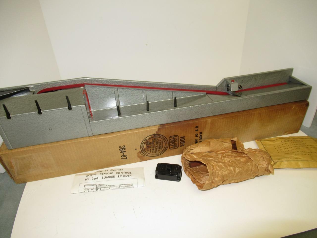 Lionel nach Krieg - 364 Operating Log Lader Zubehör - 0 027- Neu B-1