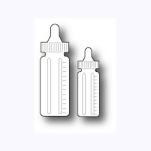 "MEMORY BOX 98867 /""Baby Bottles/""  100/% Steel Cut Die  Size 0.6x 1.8in  NEW"