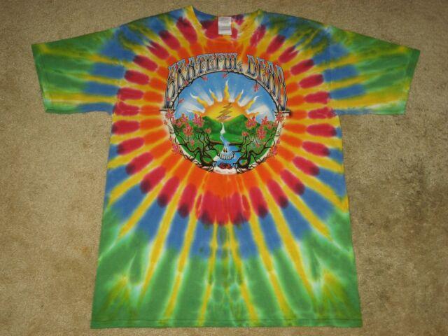 Grateful Dead Waterfall S, M, L, XL, 2XL Tie Dye T-Shirt