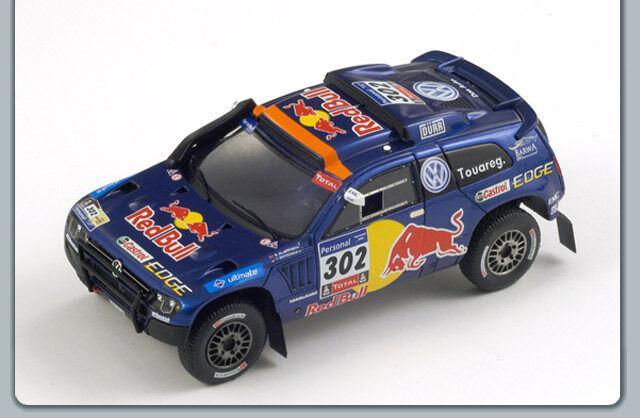 Spark - VOLKSWAGEN VOLKSWAGEN VOLKSWAGEN Race Touareg 3 n°302 1er Dakar 2011 N. Al Attiyah - Gottscalk bb2245