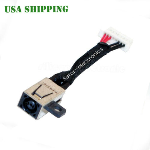 DC POWER JACK CABLE FOR Dell Inspiron 13-7353 15-i7558 7166J P55F I7347-10051SLV