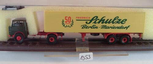 Brekina 1//87 82540 Henschel HS 16 Sattelzug Schulze Berlin Mariendorf OVP #1353