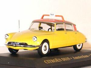 CITROEN DS19 - 1958 - Taxi Amsterdam - IXO 1:43