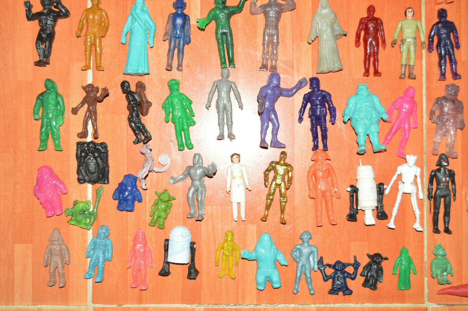 RARE TOY MEXICAN MEGA LOT 60 60 60 FIGURES BOOTLEG STAR WARS MADE IN MEXICO 472ee5