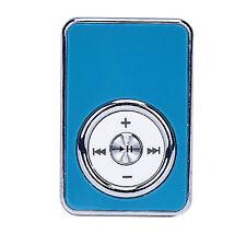 Blau USB MP3 Player Support 32GB Micro SD TF Card Music Media MP3 Digital Music