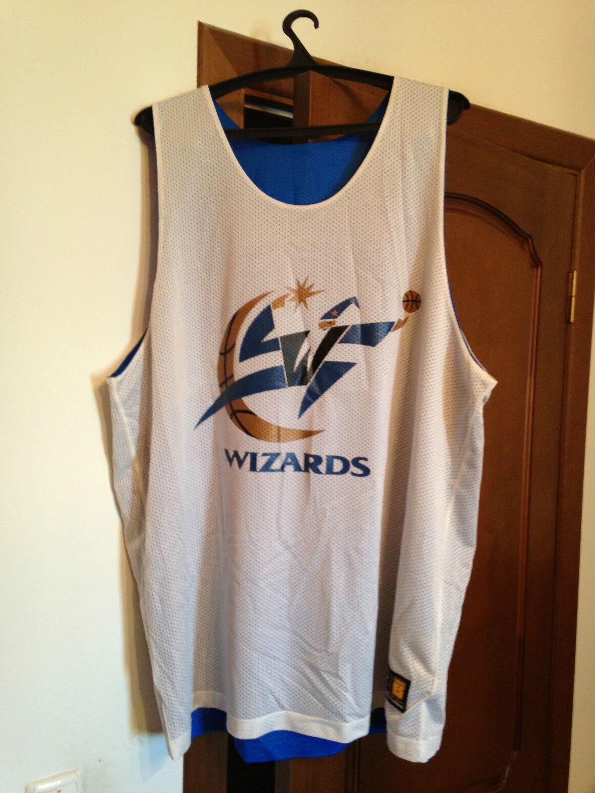 Jersey basketball Washington Wizards Baltimore Bullets 2-side 2XL