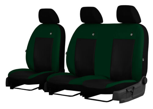 MERCEDES VITO VAN W639 2003-2014 ECO LEATHER TAILORED SEAT COVERS CUSTOM MADE