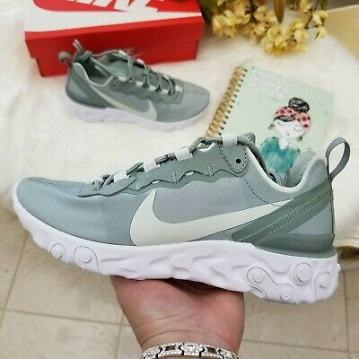 Nike React Element 55 Women's Running Shoes Size 7 Mica Green Style BQ2728 300 882801948473 | eBay
