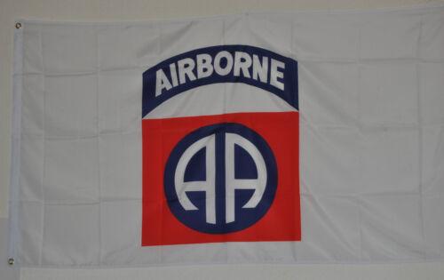 Drapeau 0754 USA Drapeau 82nd Airborne Division drapeaux drapeaux divisions NEUF