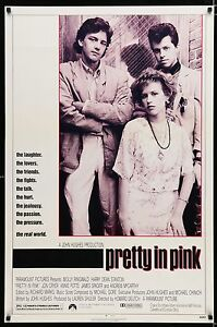 PRETTY-IN-PINK-1986-Movie-Poster-27x41-BratPack-JohnHughes-MoviePoster-80s