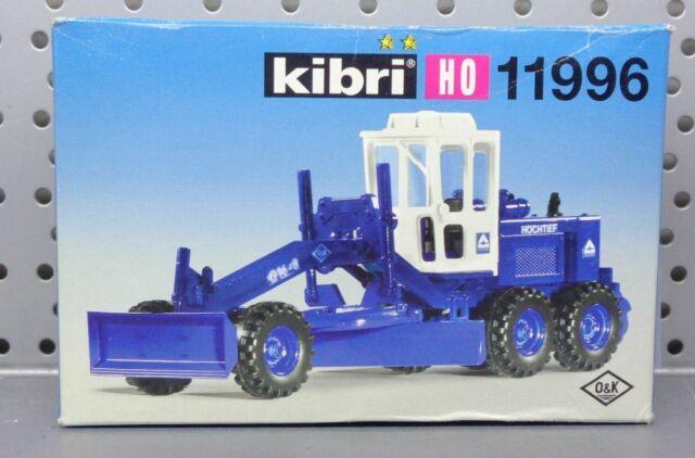 Spur H0 Kibri 11996 Grader Fahrzeug Neu OVp
