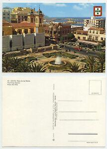 48135-Ceuta-Plaza-de-los-Reyes-alte-Ansichtskarte