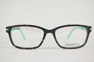 Masca Ma 2500 53 15 135 Havana Grun Oval Brille Brillengestell Eyeglasses Neu Ebay