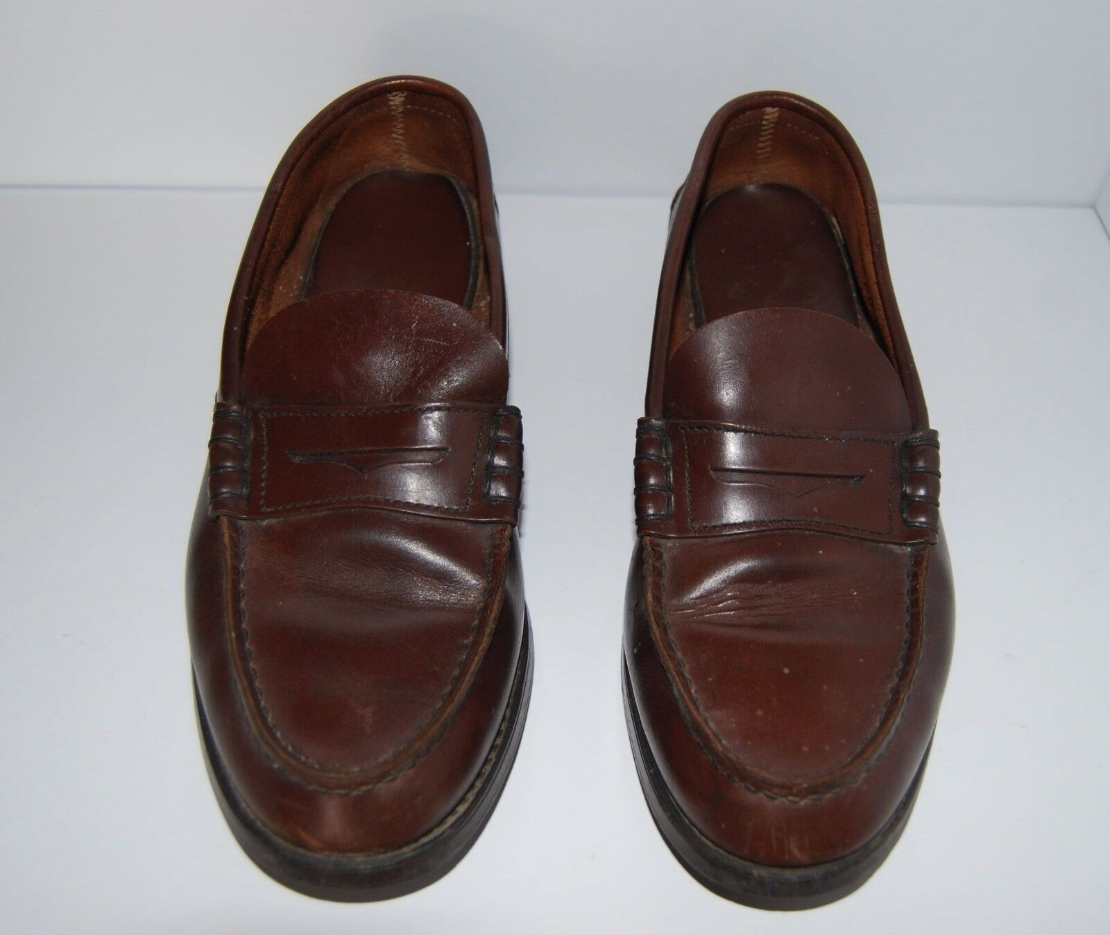 Sebago loafer marron leather classic mens Taille  41