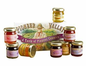 Pioneer Valley Souvenir Gourmet Jam Jelly Sampler Gift Set Box Fruit Preserves