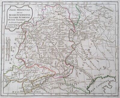 Energiek Carte De La Partie Meridionale De La Russie Europeenne , Tartare Russe